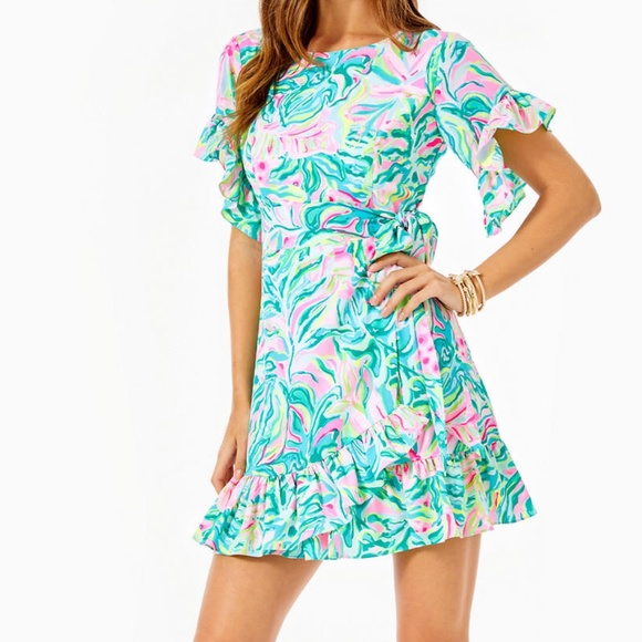 Lilly Pulitzer Darlah Stretch Dress 6